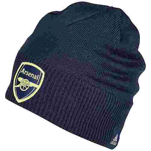 adidas FC Arsenal Beanie Herren dunkelblau / gelb