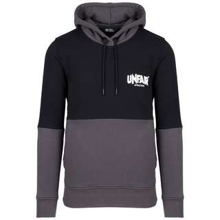 Unfair Athletics Unfair Classic Label Colour Block Hoodie Herren schwarz / grau