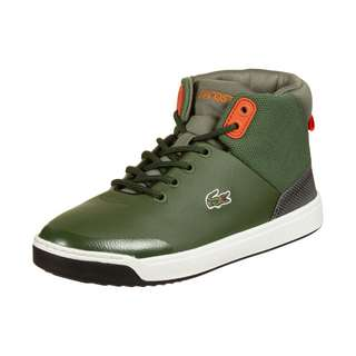 Lacoste Explorateur Sneaker Kinder grün / orange