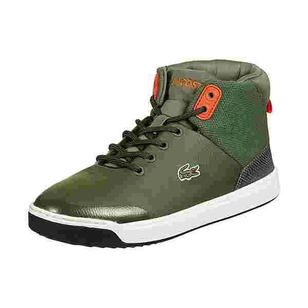 Lacoste Explorateur Sneaker Kinder grün / orange