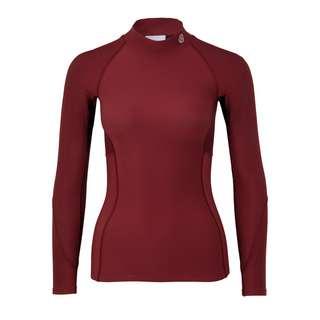 Skins S3 Thermal Longsleeve Kompressionsshirt Damen Burgundy