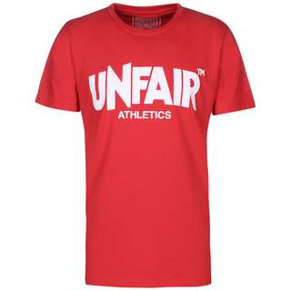 Unfair Athletics Unfair Classic Label T-Shirt Herren rot / weiß