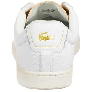 Lacoste Canaby Evo 120 Sneaker Damen weiß / beige