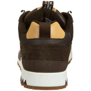 Lacoste Urban Breaker 3202 Low Sneaker Herren dunkelgrün / braun