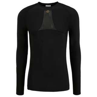 Skins S5 Longsleeve Kompressionsshirt Herren Black