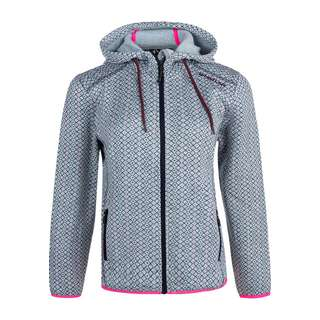 Whistler EMMILY W FLEECE Fleecejacke Damen 1005 Light Grey
