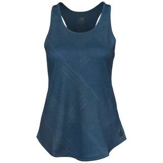 NEW BALANCE Q Speed Funktionsshirt Damen dunkelblau / blau