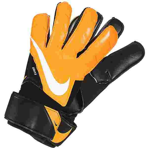 Nike Goalkeeper Grip3 Torwarthandschuhe Herren schwarz / orange