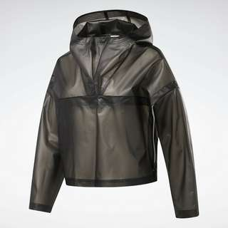 Reebok Edgeworks Jacket Trainingsjacke Damen Schwarz