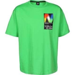 NEW BALANCE MT03518 T-Shirt Herren grün