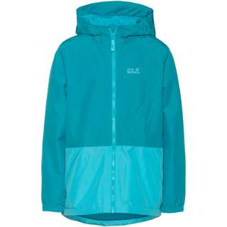 Jack Wolfskin Snowy Days Outdoorjacke Kinder blue reef