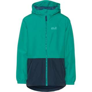 Jack Wolfskin Snowy Days Outdoorjacke Kinder green ocean