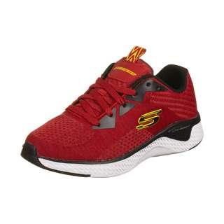 Skechers Solar Fuse Kryzik Sneaker Kinder rot / schwarz