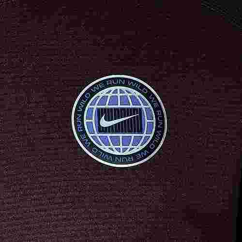 Nike Pacer Wild Run Graphic Funktionssweatshirt Herren schwarz