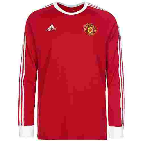 adidas Manchester United Icons Funktionsshirt Herren rot / weiß