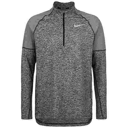 Nike Element 2.0 Funktionssweatshirt Herren grau / silber