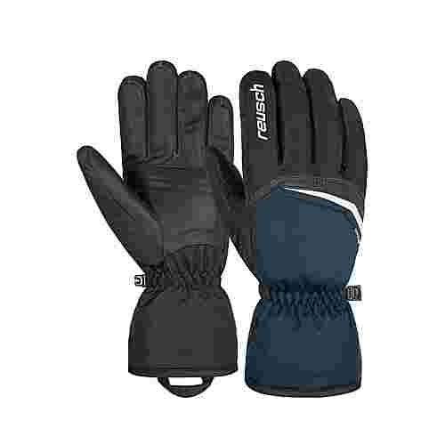 Reusch Snow King Skihandschuhe black / dress blue