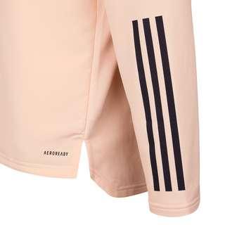 adidas Juventus Turin Warm Funktionssweatshirt Herren rosa / dunkelblau