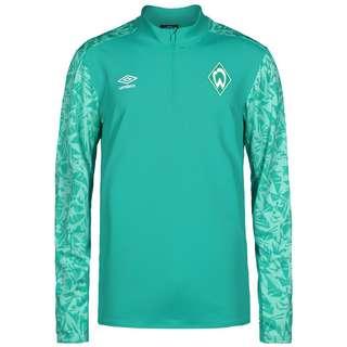 UMBRO SV Werder Bremen Half Zip Funktionsshirt Herren grün / weiß