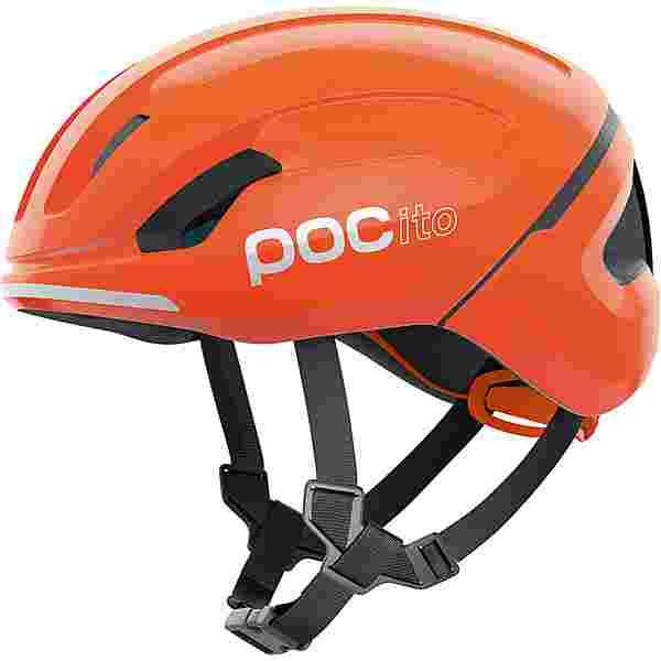 POC POCito Omne SPIN Fahrradhelm Kinder fluorescent orange