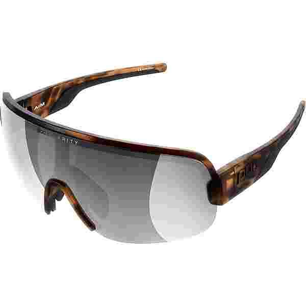 POC Aim Sportbrille tortoise brown