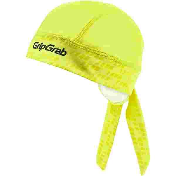 GripGrab Bandana Helmmütze Yellow Hi-Vis