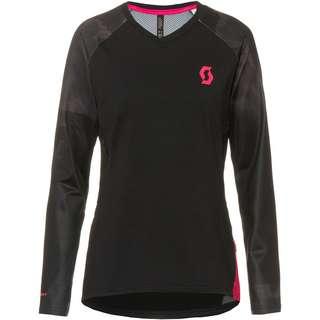 SCOTT W's Trail Storm l/sl Funktionsshirt Damen black-dark grey