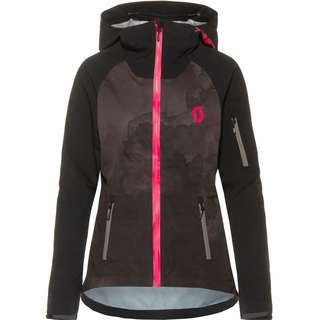 SCOTT W's Trail Storm WP Fahrradjacke Damen black virtual pink