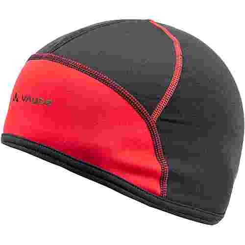 VAUDE Bike Cap Helmmütze black-red
