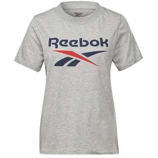 Reebok Identity Classic T-Shirt Damen medium grey heather