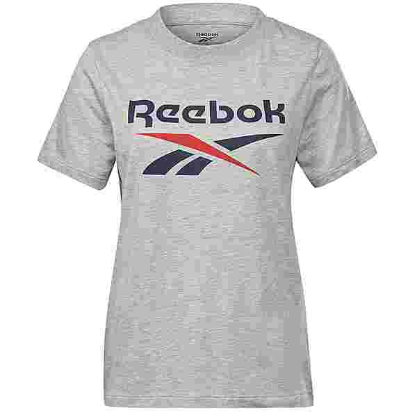 Reebok Identity Classic T-Shirt Damen medium grey heather