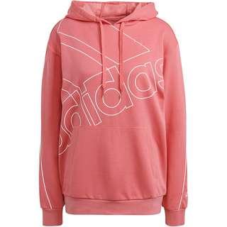 adidas Favorite Essentials Hoodie Damen hazy rose-white