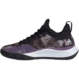 adidas Defiant Generation Tennisschuhe Damen core black-silver met.-ftwr white