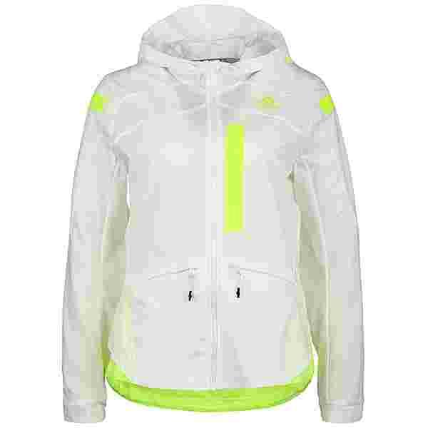 adidas MARATHON PRIMEBLUE Laufjacke Damen white-solar yellow