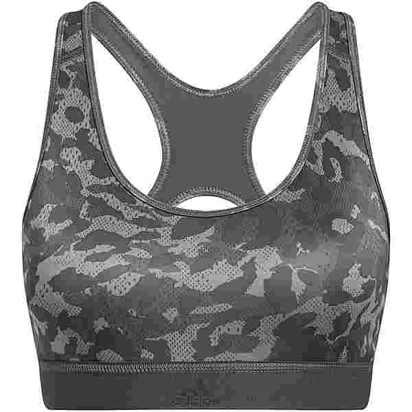 adidas DESIGNED4TRAINING AEROREADY BH Damen grey three-print