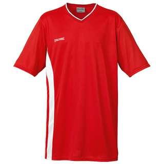 Spalding MVP Shooting Basketball Shirt Herren rot / weiß