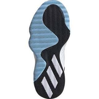 adidas D.O.N. Issue 1 Basketballschuhe Kinder weiß / schwarz