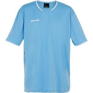 Spalding Move Shooting Basketball Shirt Herren hellblau / weiß