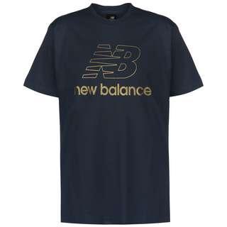 NEW BALANCE Athletics Podium T-Shirt Herren blau