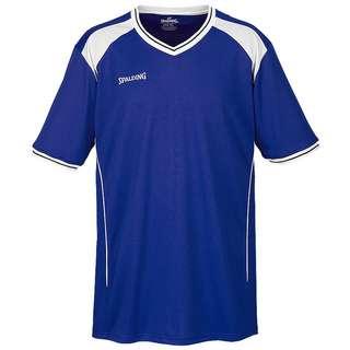 Spalding Crossover Shooting Basketball Shirt Herren blau / weiß