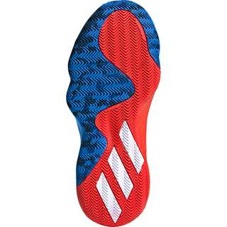 adidas D.O.N. Issue 1 Basketballschuhe Kinder blau / rot