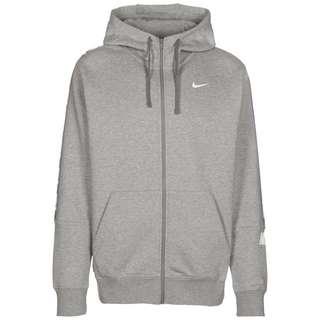 Nike NSW Repeat Sweatjacke Herren dark grey heather-white
