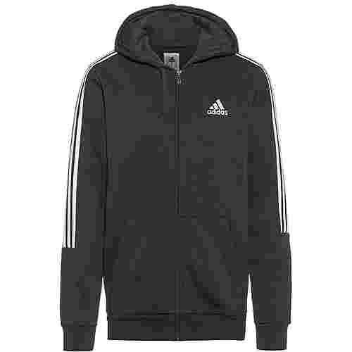 adidas ESSENTIAL Sweatjacke Herren black-white
