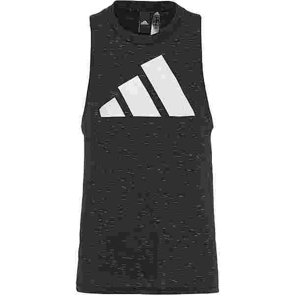 adidas Winners 2.0 SPORT MUST HAVES ENHANCED Tanktop Damen black melange