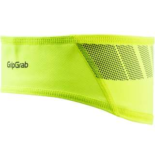 GripGrab Windproof Hi-Vis Headband Stirnband yellow hi-vis