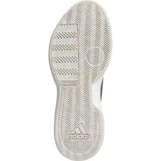 adidas Marquee Boost Low Basketballschuhe Herren blau / weiß