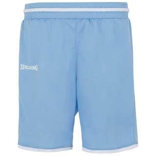 Spalding Move Shorts Damen hellblau / weiß