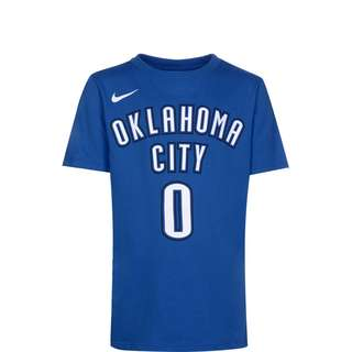 Nike NBA Icon Edition Player #0 Westbrook Basketball Shirt Kinder hellblau / weiß