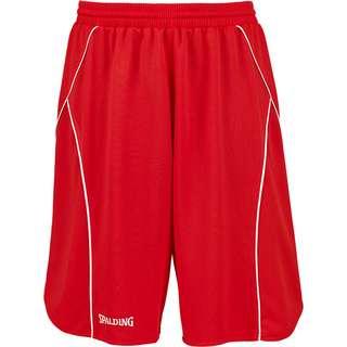 Spalding Crossover Basketball-Shorts Herren rot / weiß