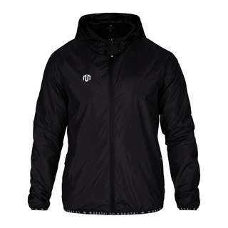 MOROTAI Light Windbreaker Funktionsjacke Herren Schwarz